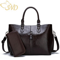 WDbag Women 39 s bags 2019 Designer Luxury Handbags Women Bags Fashion Big Shoulder Bags Soft Leather Totes Bag Sets