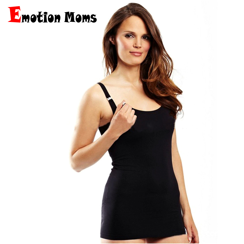 Emotion Moms Breastfeeding Clothes for Nursing Tank Tops Maternity Clothes For Pregnant Women Wireless Cami Maternity Vest Tops