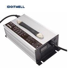 Personalizado 1200 W Serie 12 V 50A 24 V 30A 36 V 20A 48 V 20A 60 V 15A 72 V 12A cargador de batería de plomo-ácido de litio o LifePO4 batería