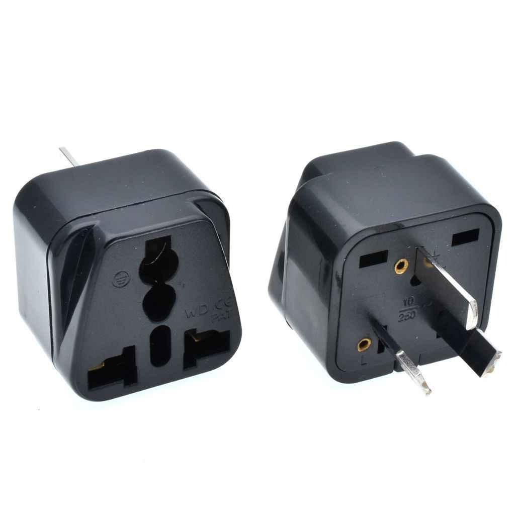 AU Travel Adapter Swiss บราซิลอิตาเลี่ยน US UK Euro EU AU Part - ฉนวนปลั๊กอะแดปเตอร์ซ็อกเก็ตชาร์จ AC Converter Outlet