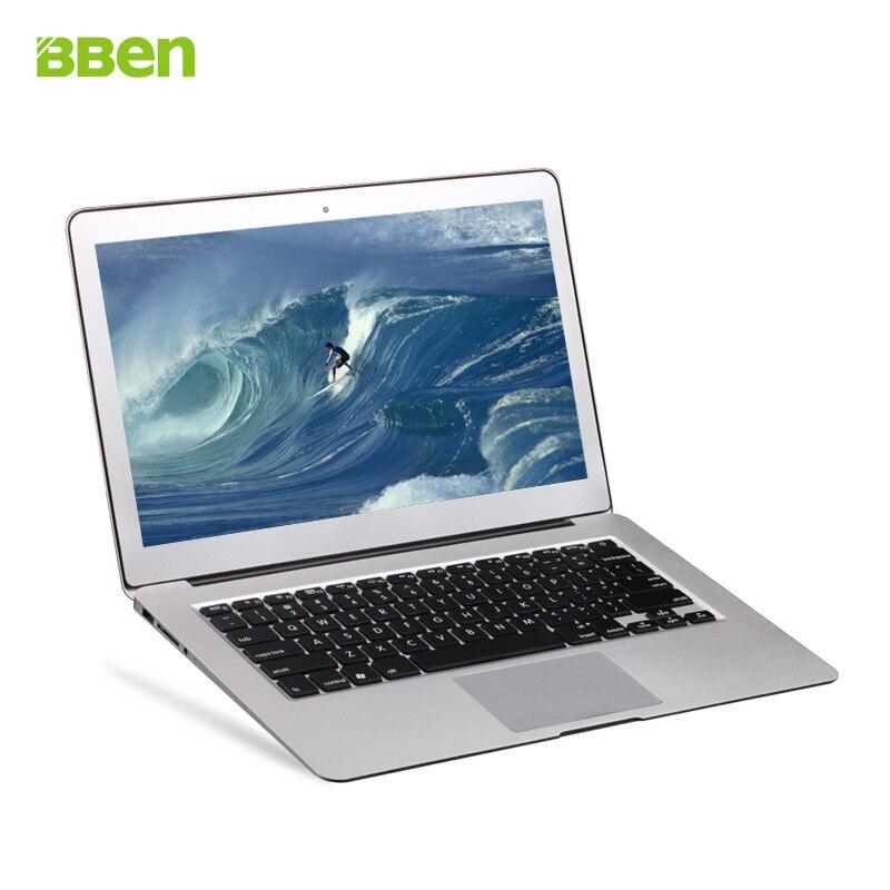 Bben ultrabook laptop windows10 actived metal notebook 4GB Memory 64G SSD Hard font b disk b