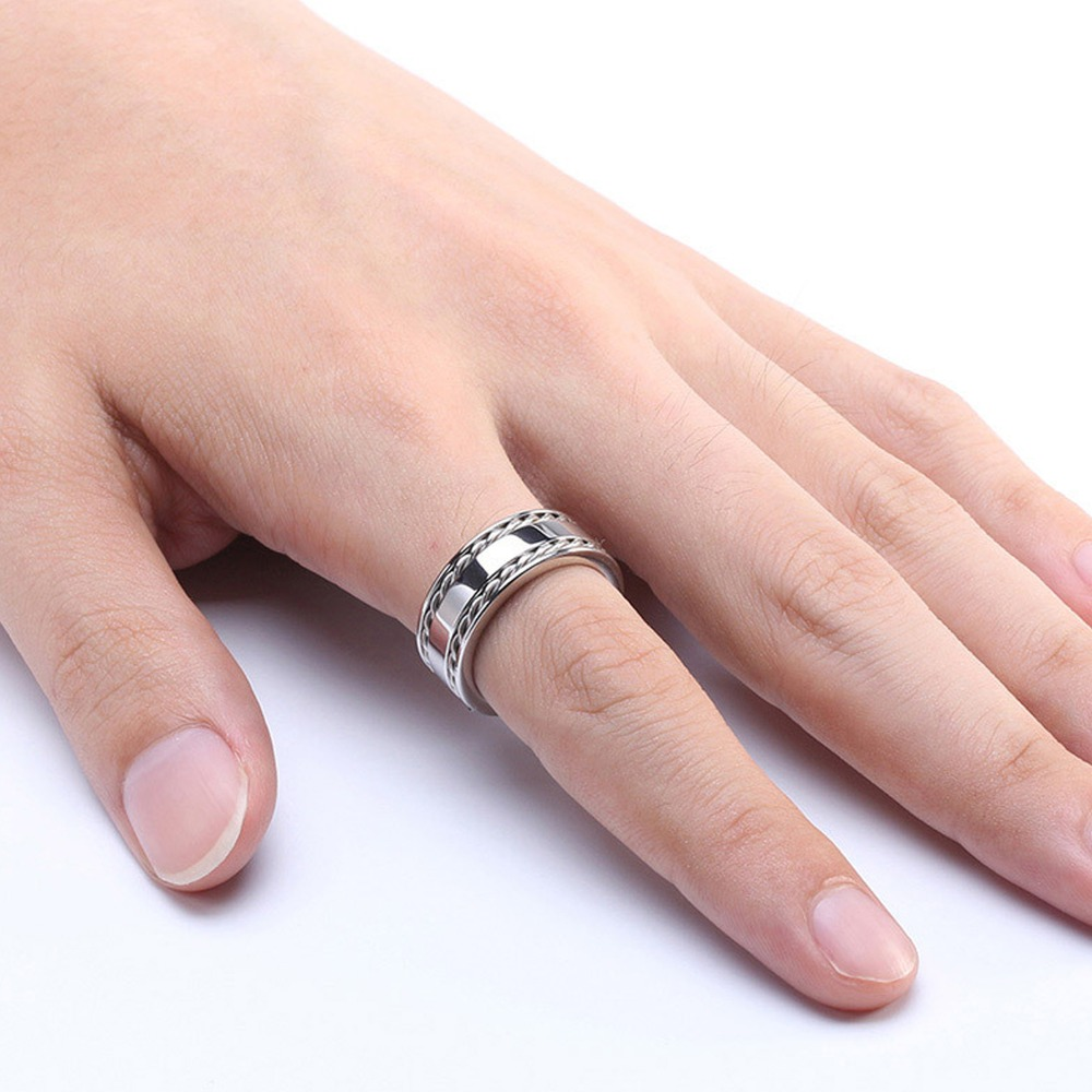 Fashion Rings Hot Movie Jewelry 316L Stainless Steel Ring For Man ...