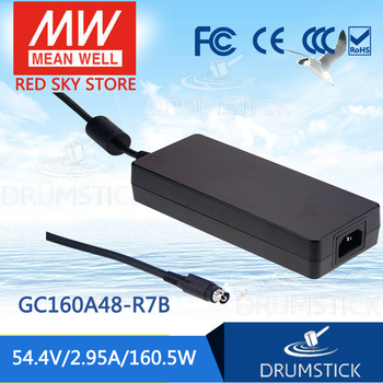patriotic MEAN WELL GC160A48-R7B 54.4V 2.95A meanwell GC160 54.4V 160.5W Single Output Battery Charger