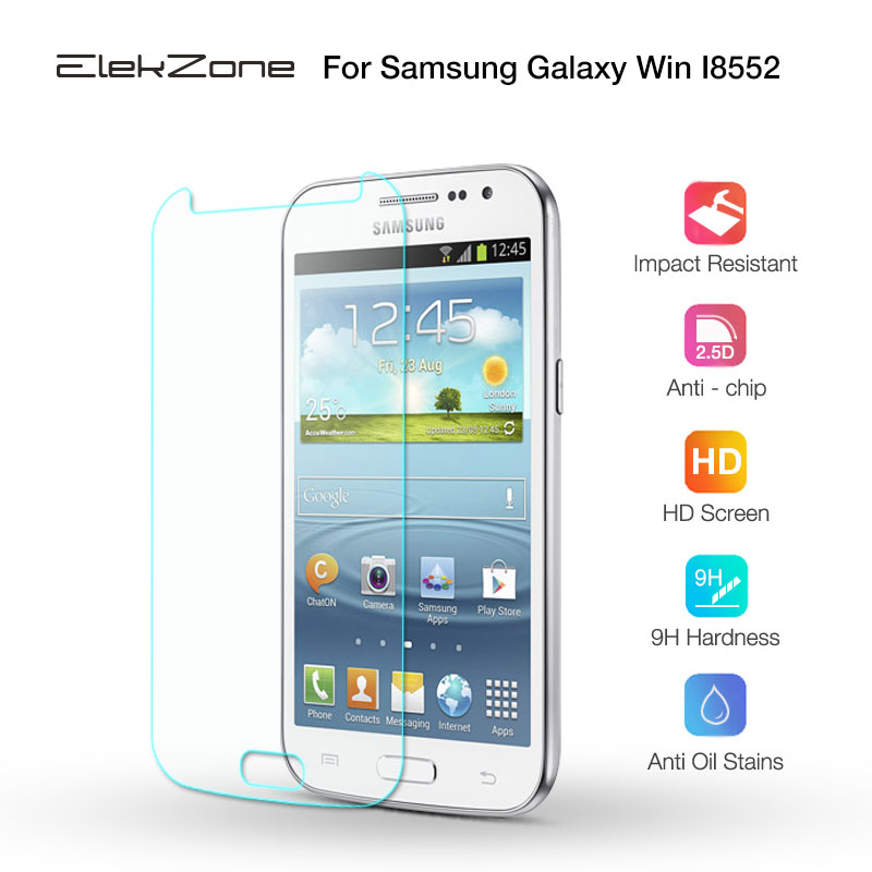 For Samsung Win I8552 Screen Protector Tempered Glass For Samsung Galaxy Win I8552 Front Film Glass