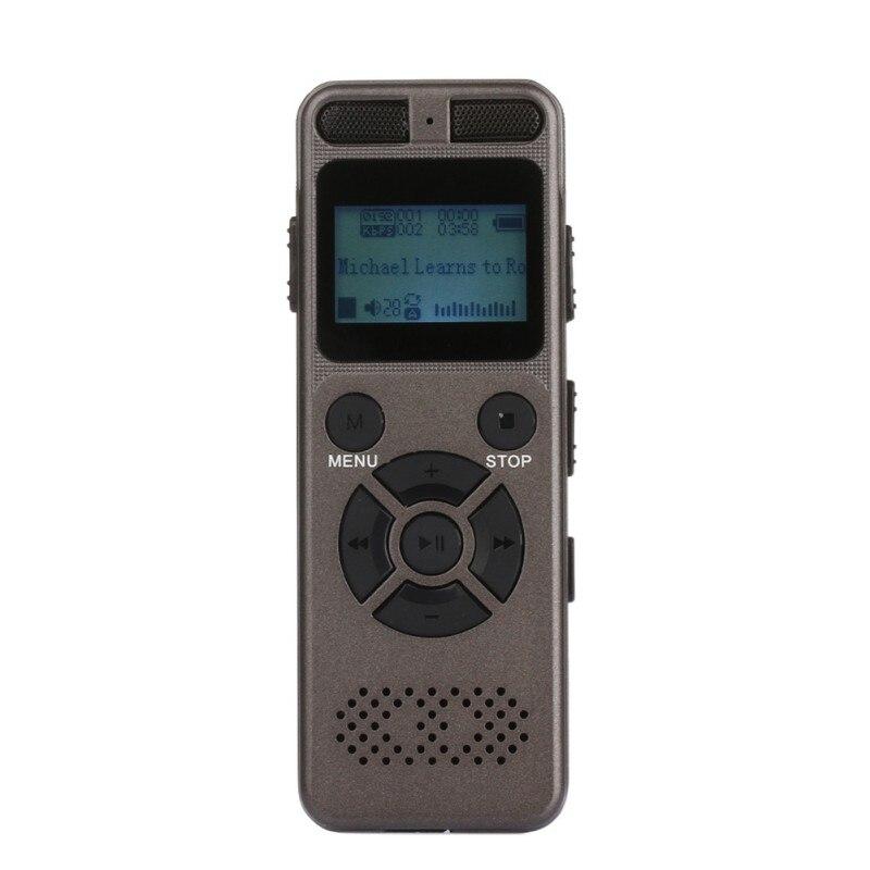 Gelernt 8 Gb Voice Recorder Digitale Aufzeichnung Stift Tragbares Audio & Video Mp3 Musik Player Mit 3,5mm Kopfhörer Micphone Jack Eingebaute 1450 Mah Große Batterie Preisnachlass
