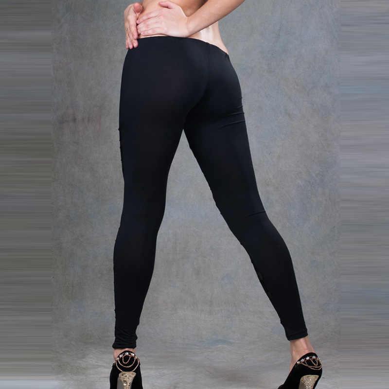 8a5cec6c0a7f9 ... Women Leggings Legging Pants Work out Black Casual Sexy Leggins Pants  ...