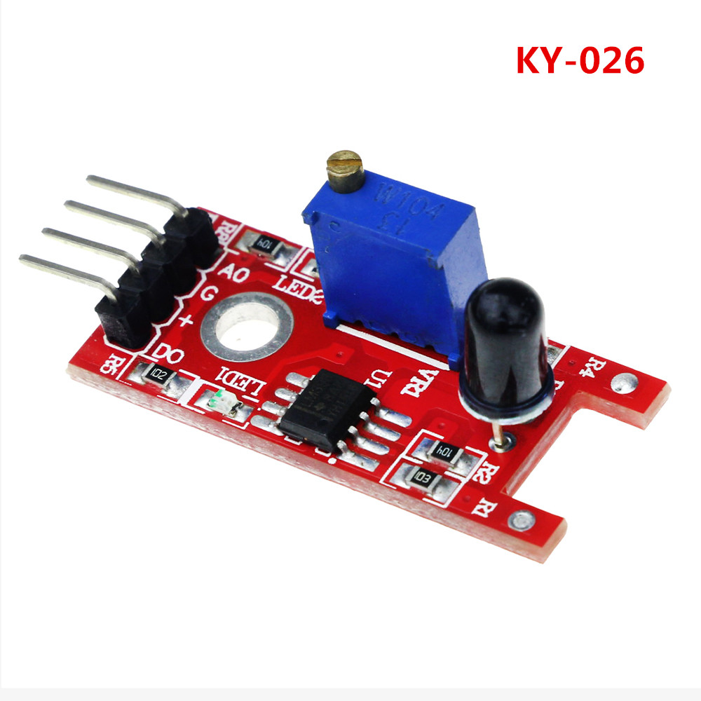 Electronic Components & Supplies Humor Smart Electronics Fz0455 4pin Keyes Ky-016 Three Colors 3 Color Rgb Led Sensor Module For Arduino Diy Starter Kit Ky016 Excellent In Cushion Effect Sensors