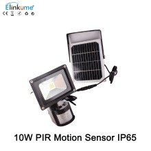 Led Flood Light Pir solar Motion Sensor Induction Sense 10W 5W IP65 waterproof Led Floodlight Cold White Advertising Lamp