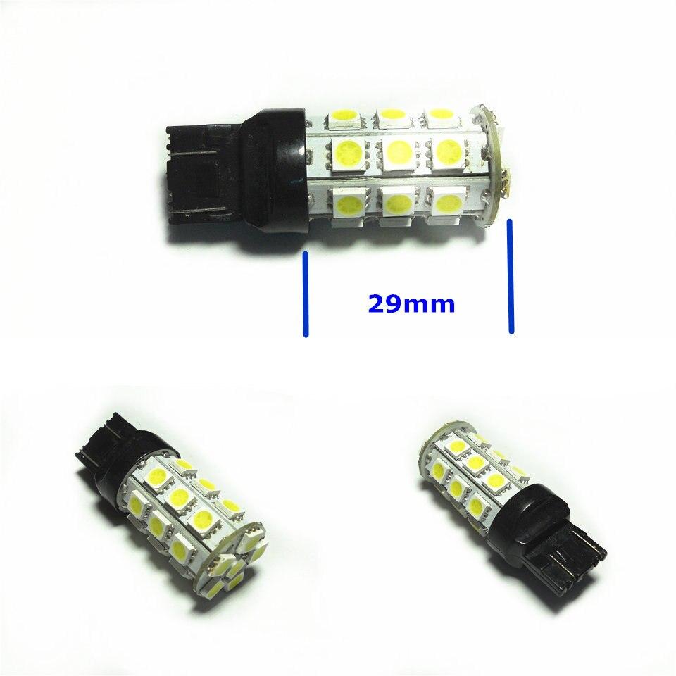 12V LED (27 * 5050SMD) Llambë llambë e makinave W21 / 5W T20 W3X16q - Dritat e makinave - Foto 5