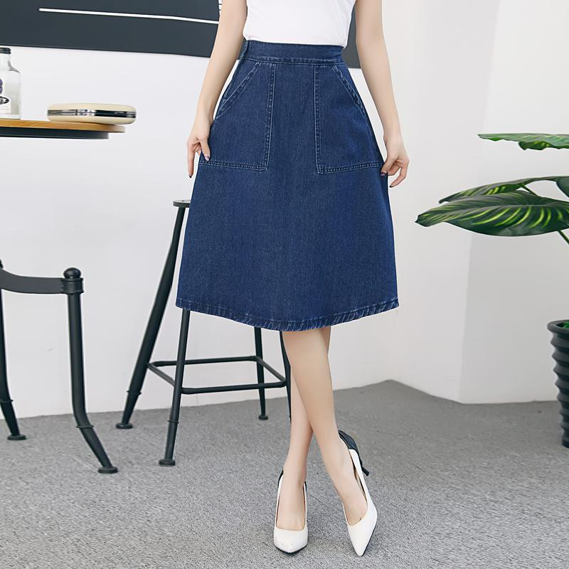 Online Get Cheap Jean Midi Skirts -Aliexpress.com | Alibaba Group