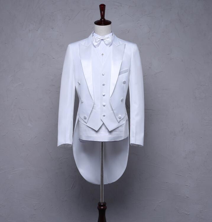 Blazer men formal dress latest coat pant designs tuxedo suit men costume trouser marriage wedding suits for men's black white