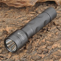 UltraFire UF T30 2 Mode Memory White Dimming Flashlight Dark Grey 1 X 18650
