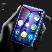 BENJIE X6 MP3 Player Full Touch Screen 4/8/16GB Music Player FM Radio Video E book MP3 With Built in Speaker Support 28 language