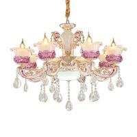 Sala обеденный стол освещение в лофте светильник Pendelleuchte дома кристальная висящая лампа Luminaria Декор для дома Lampen современный подвесной светил