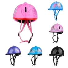 Adjustable Kids Horse Riding Helmet Safety Children Equestrain Schooling 48-54cm