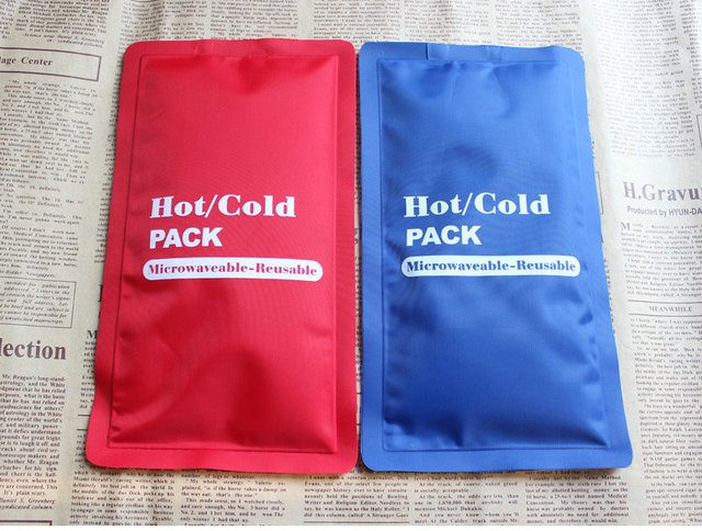 Free Shipping Pe Repeated Use Hot Cold Ice Bag Head With Fever Swelling And Pain Relief