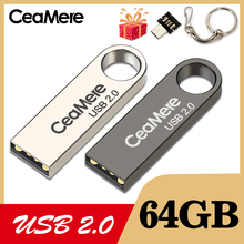 CeaMere C3 USB Flash Drive 16GB/32GB/64GB Pen Drive Pendrive USB 2.0 Flash Drive Memory stick  USB disk 3 Color USB FLASH DRIVE