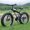 24 Speed 26 Inch Fat Bike Aluminum Alloy Frame Snow Bike With Shockingproof Frame Super Wide