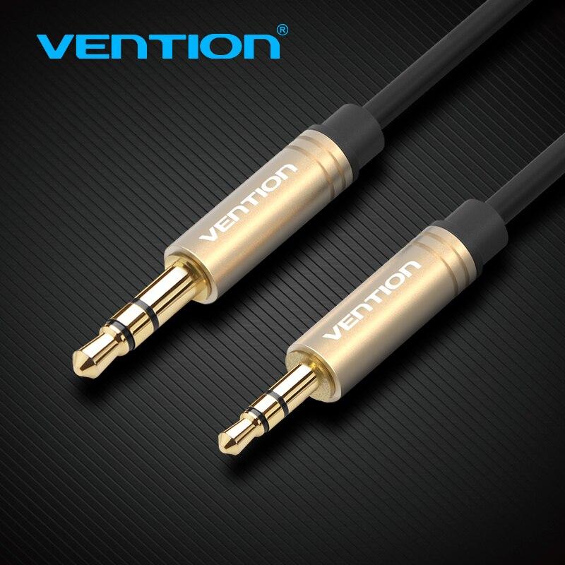 Vention 3.5mm jack aux cabo 2.5mm a 3.5mm conversor de áudio adaptador cabo macho ao homem 0.5m 1m 1.5m 2m para o orador esperto do telefone