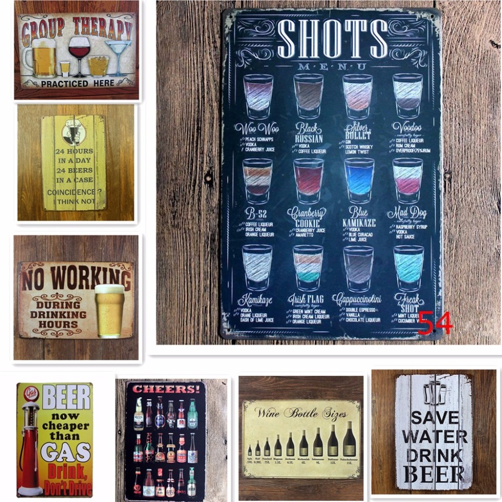 Online Buy Wholesale Vintage Tin Signs From China Vintage