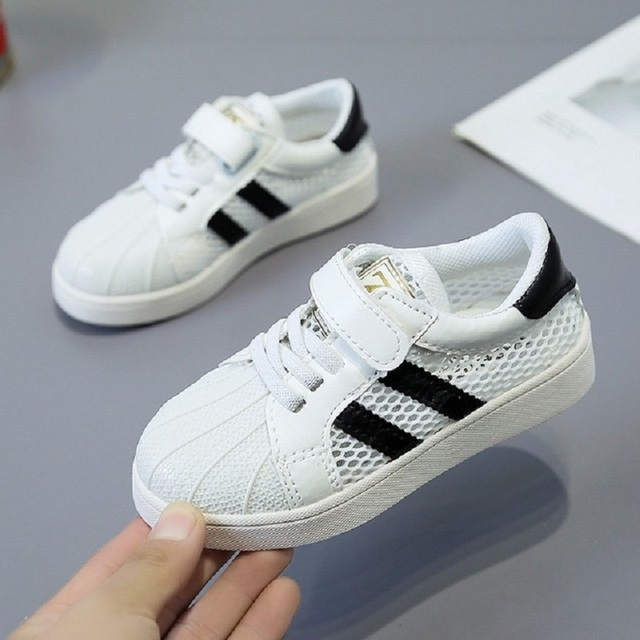 Breathable White Cotton Sneakers