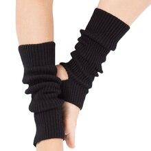 Lutut Tinggi Potong Boot Legging Warmers Crochet Womens Musim Gugur Musim Dingin Acrylic Rajutan Penghangat kaki Kaus Kaki Pelindung Kaki Boot Penghangat kaki