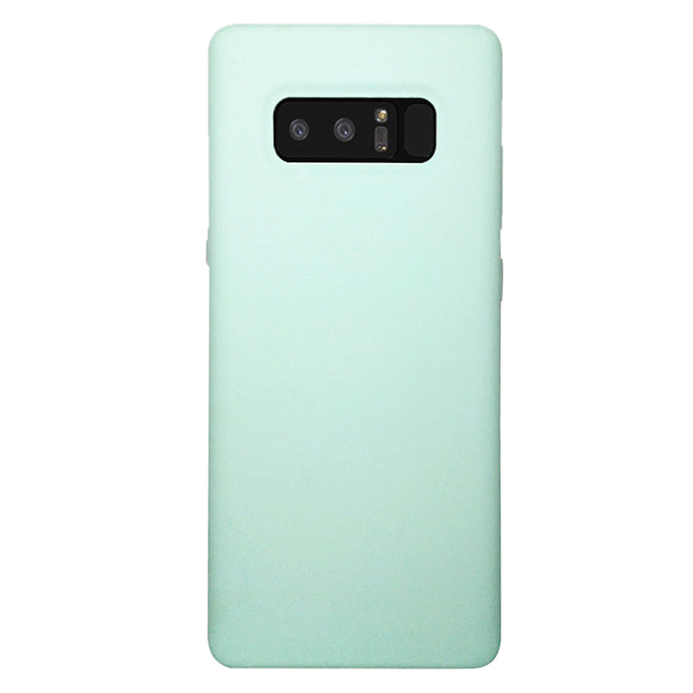 6.3-Inch Ultra-Thin Silicone Holster Solid Color Simple Non-Slip Protection Soft Cover For Samsung Note8 10