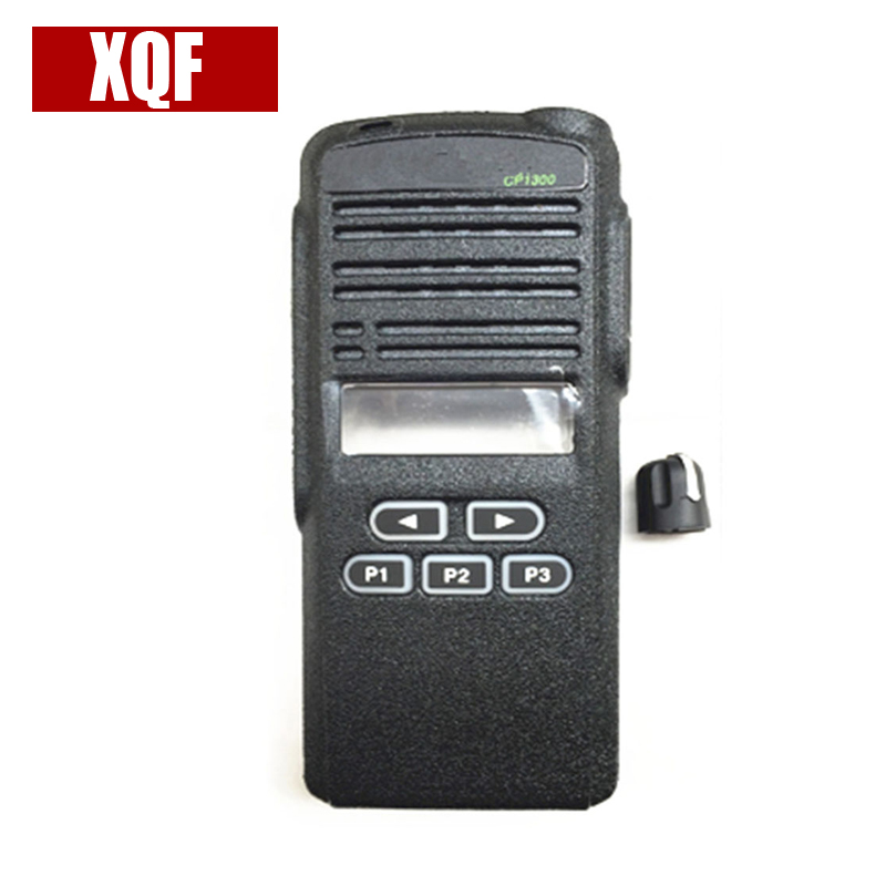 XQF New Front Cover Panel Shell Surface Knob For Motorola CP1300 Radio Accessories