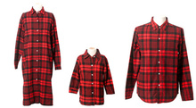 Family Clothing Casual Plaid Shirt/Blouse Family Clothes Mother and Daughter Clothes 2015 New clothes Family Clothing
