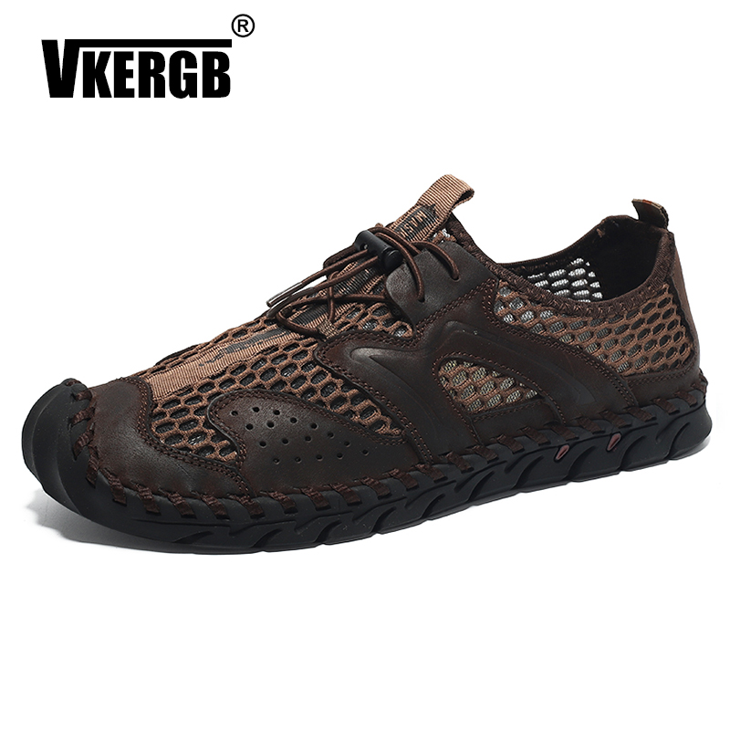 VKERGB New Cheaper Outdoor men Swimming shoes Summer Water Men Beach Sandals Breathable Shoes Quick Dry