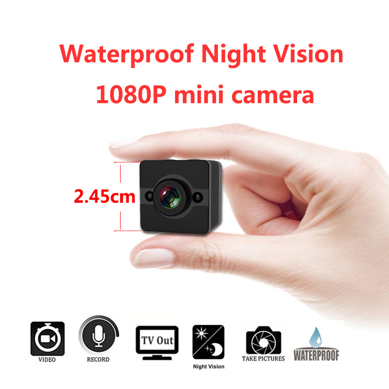 2018 newest HD 1080P super Mini Waterproof camera Body Camera Video Recorder with Motion Detection and Night Vision PK SQ11 SQ8