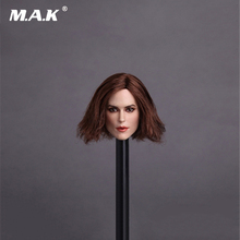 1/6 Scale GC007 Keira Knightley Head Sculpt for 12 Inches Bodies Toys Gifts Collections 1 6 scale kt005 female head sculpt long hair model toys for 12 inches women bodies figures