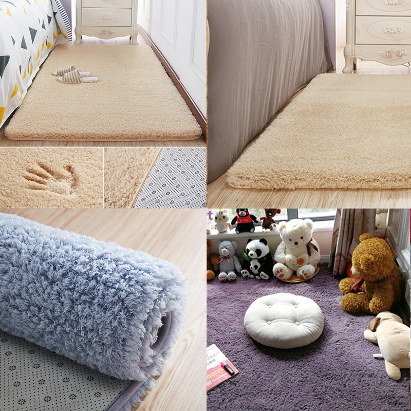 US $10.22 33% OFF 2MX3M Thicken Cashmere Floor Mat baby big Carpets For  Living Room Rugs Bedroom Coffee Table Area Rugs Soft Children Play Mat-in  ...