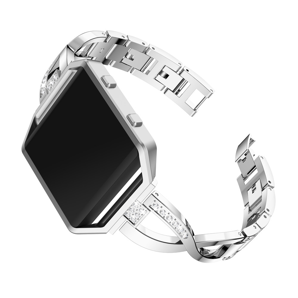 For Fitbit Blaze smart watch frontier Classic replacement Rhinestone bracelet For Fitbit Blaze smart strap band accessories in Watchbands from Watches