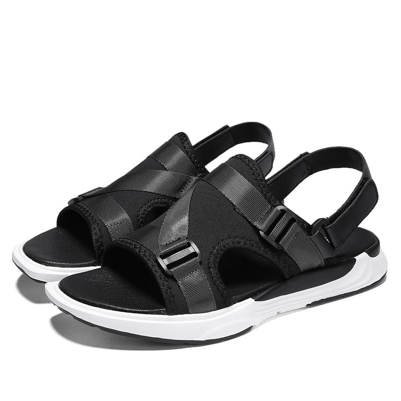 Men Sandals Summer Beach Shoes Roma Leisure Breathable Gladiator Sandals Male Shoes Adult Flip Flops Zapatos Hombre 2#15D50