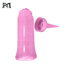 120ml/160ml/150ml Hair lotion Container Hair Salon Hair Washing Squeeze Refillable Shampoo Bottle Hairdressing Cleaning Tool A15