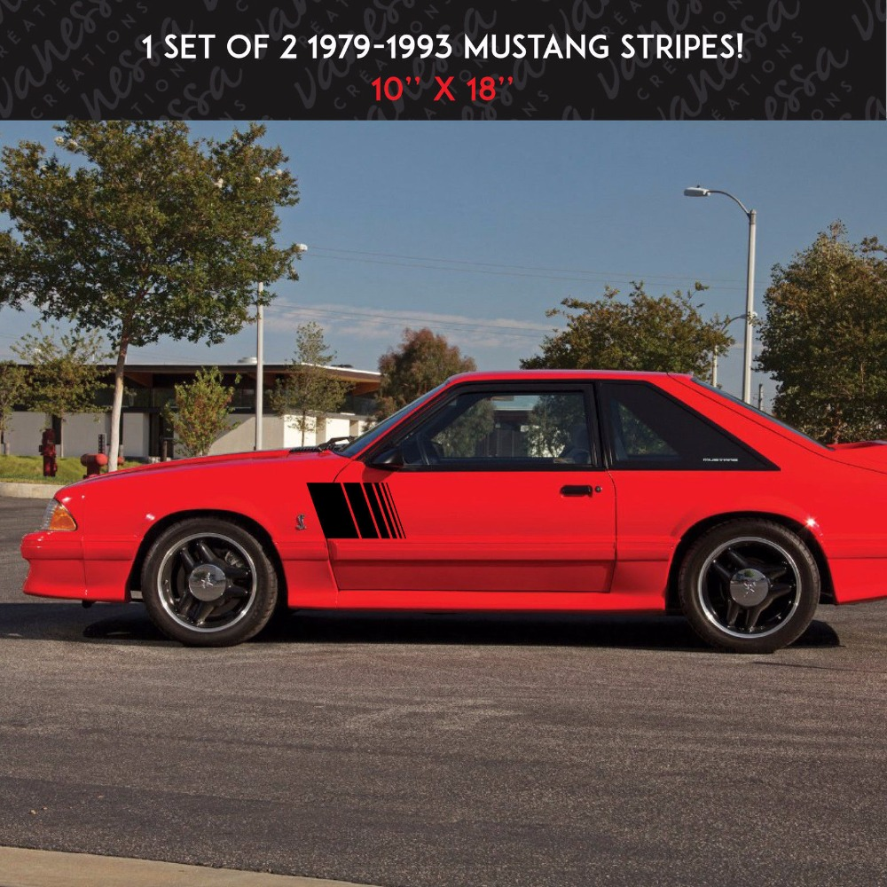 kit of 2 SIDE STRIPES KIT MUSTANG UNIVERSAL sticker vinyl car decal kitave82202unv20630 value kit avery allstate style legal side tab divider ave82202 and universal perforated edge writing pad unv20630