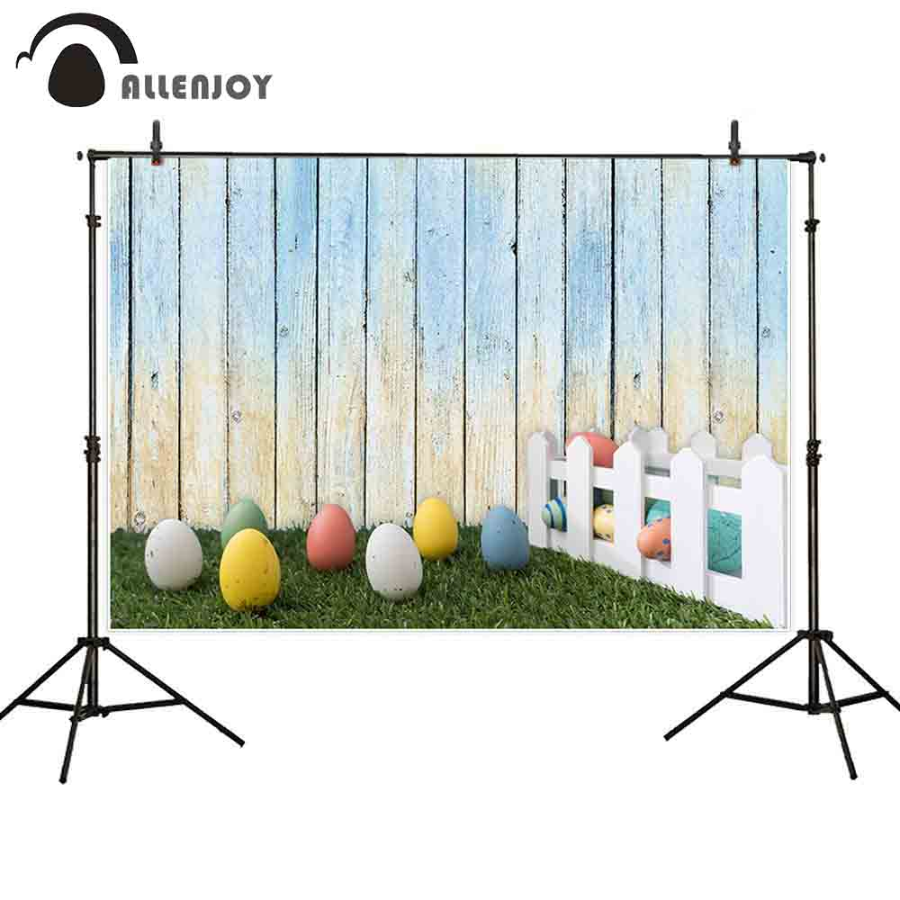 Allenjoy background for photo studio easter colorful eggs ...