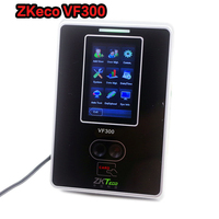 ZK VF300 face recognition attendance machine Facial RF card mix biometric attendance system acces control face Built in Ethernet