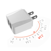 hot deal buy dual usb charger, mobile phone us charger plug travel wall charger adapter for iphone ipad samsung xiaomi phone charger