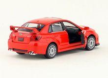 High Simulation Exquisite Diecasts & Toy Vehicles: RMZ city Car Styling Subaru Impreza 1:36 Alloy Diecast Car Model Toy Car
