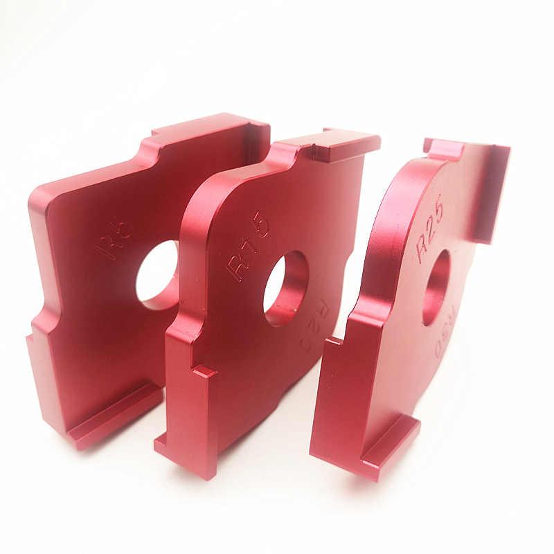 Alloy Radius Quick-Jig Router Table Bit Corner Templates R5//R10+R15//R20+R25//R30