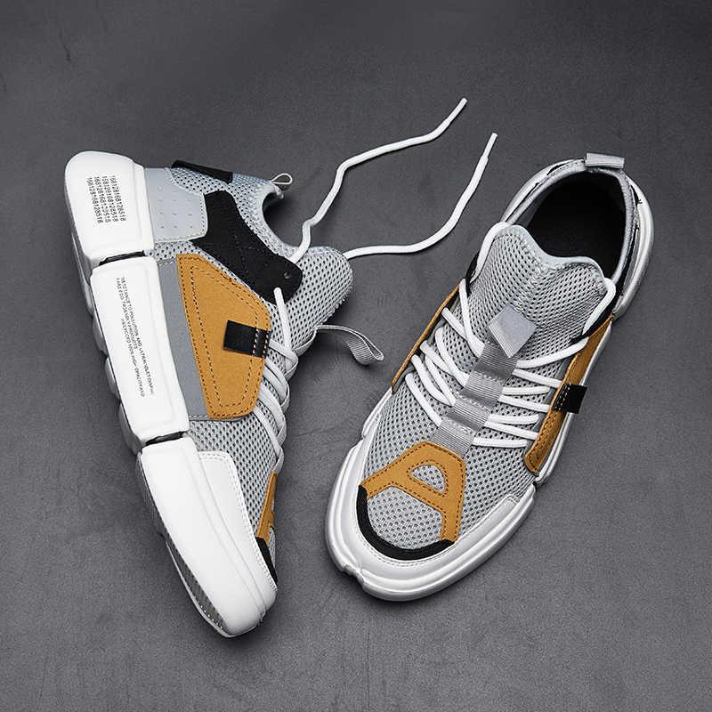 Unisex światła wysokiej Top Air trampki mężczyźni na zewnątrz buty do biegania stan dorosłych buty sportowe kobiet sportowe Fitness jogging obuwie