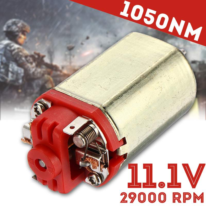 11.1V 29000RPM 460 D-axis Micro DC Motor High Torque High Speed Gear Reduction Motor For DIY Toys Hobbies Carbon Brush Motor11.1V 29000RPM 460 D-axis Micro DC Motor High Torque High Speed Gear Reduction Motor For DIY Toys Hobbies Carbon Brush Motor
