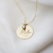 Gold Disk Necklace Handmade Initial Letter Necklace Coins Choker Gold Filled Pendants Collier Femme Kolye Jewelry Boho Necklace