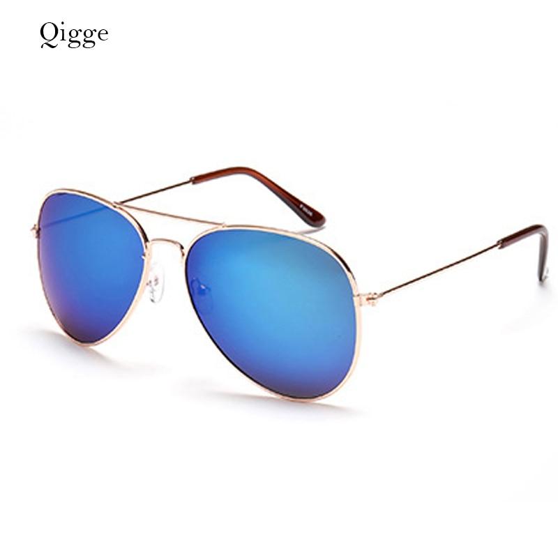 Qigge Nuevo Aviador Gafas de Sol de Marco de Metal Unisex UV400 Gafas - Accesorios para la ropa - foto 2