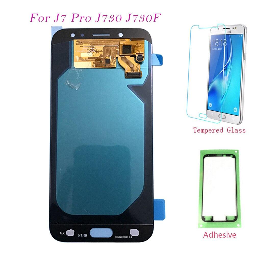 Écran LCD AMOLED pour Samsung Galaxy J7 J730 Pro 2017 J730F J730FM écran tactile numériseur écran LCD pour Samsung J730 J7 Pro