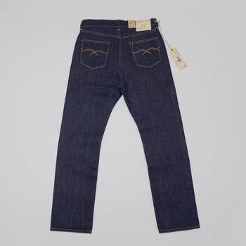 Мужские джинсы с красными полосками BOB DONG, прямые зауженные джинсы 23 унции, 2019