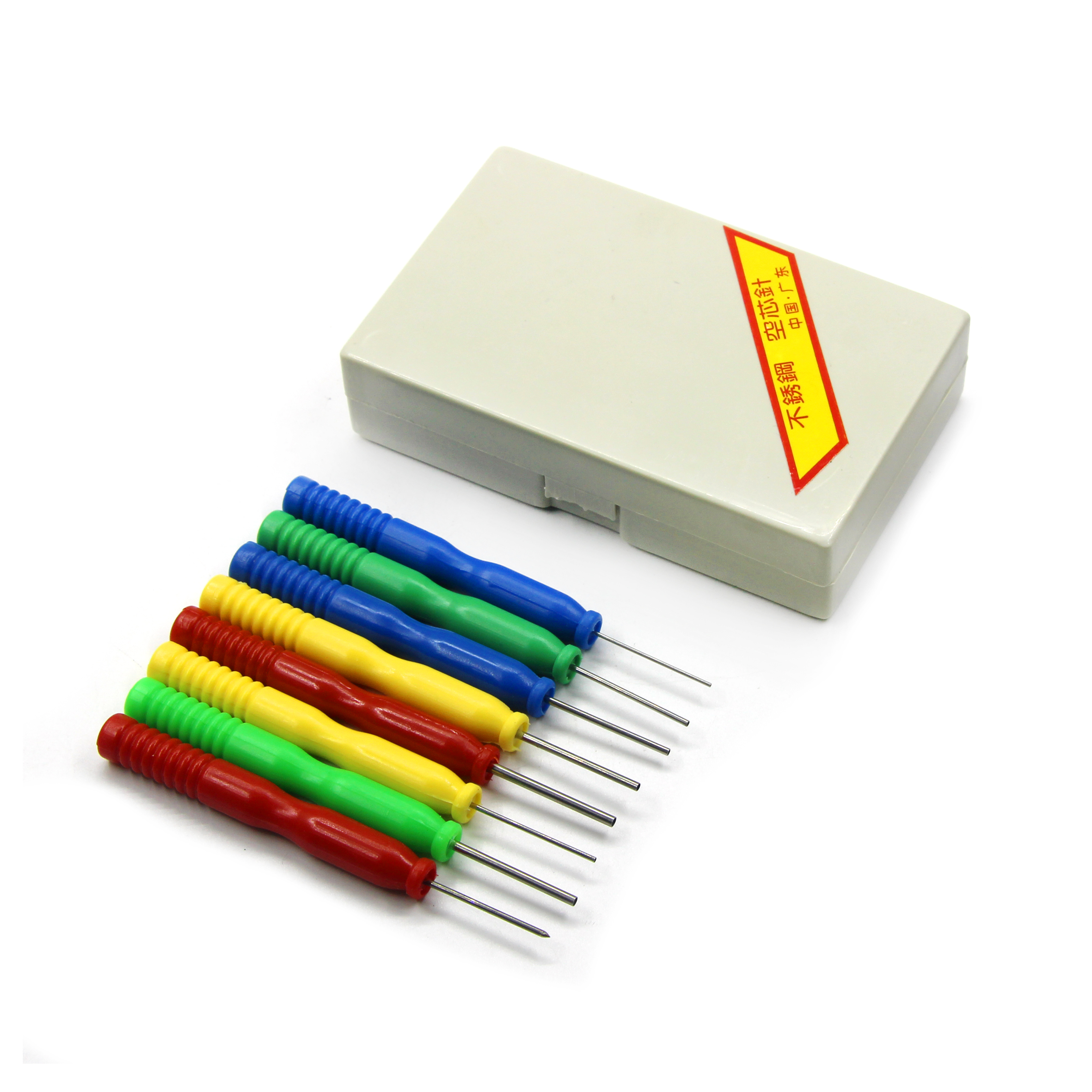 High Quality 8PCS/Lots Hollow Needles Desoldering Tool Electronic Components Stainless Steel Kits