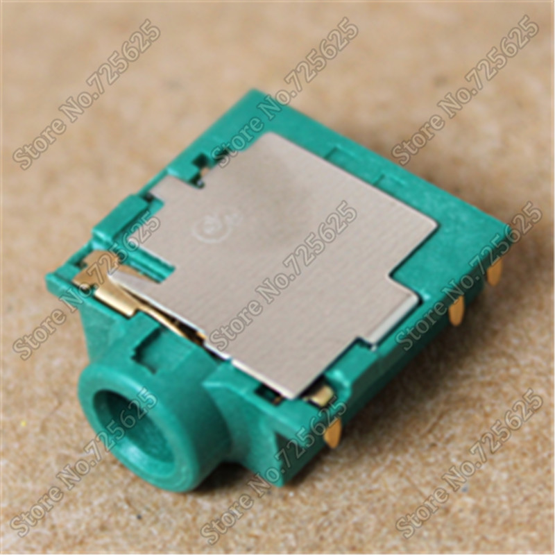 6PIN Headphone MIC jack socket connector for Laptop Asus Acer Lenovo Sansung Dell HP Sony Toshiba audio jack x10